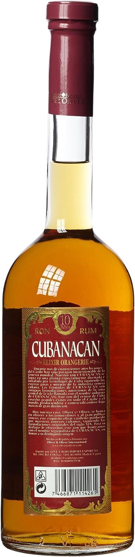 cubana Can Elixir orangierie 10 años de licor (1 x 0,7 l)