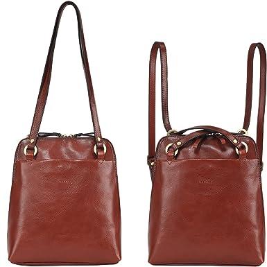 Amazon.com   Banuce Italian Leather Small Dual Use Convertible ...