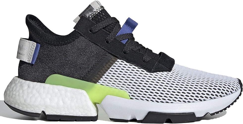 adidas Men's POD S3.1 Core BlackReal LilacShock Red CG5947