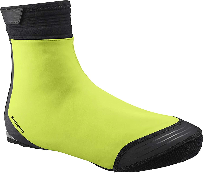 Shoe Size 40-42 SHIMANO S1100R Soft Shell Shoe Cover; Black; M