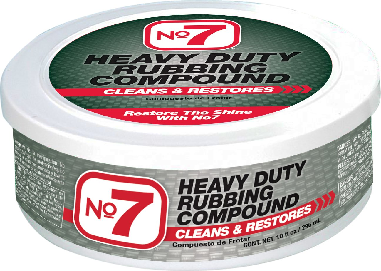 No7 Heavy Duty Rubbing Compound, 10 fl oz, Case of 12 by Niteo