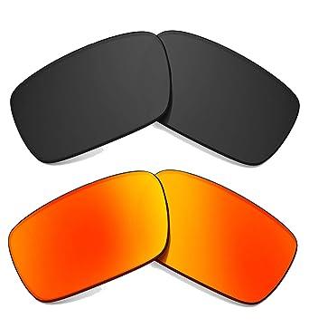 Nuevo SEEK Lentes de Repuesto Oakley CRANKSHAFT Gris Rojo ...