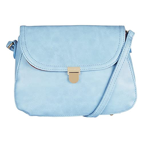 fc1426478 Caprese Women s Sling Bag (Skyblue)  Amazon.in  Shoes   Handbags