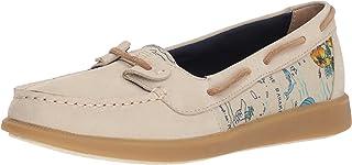 Sperry Women's Oasis Loft Boat Shoe, Linen, 9.5 Medium US