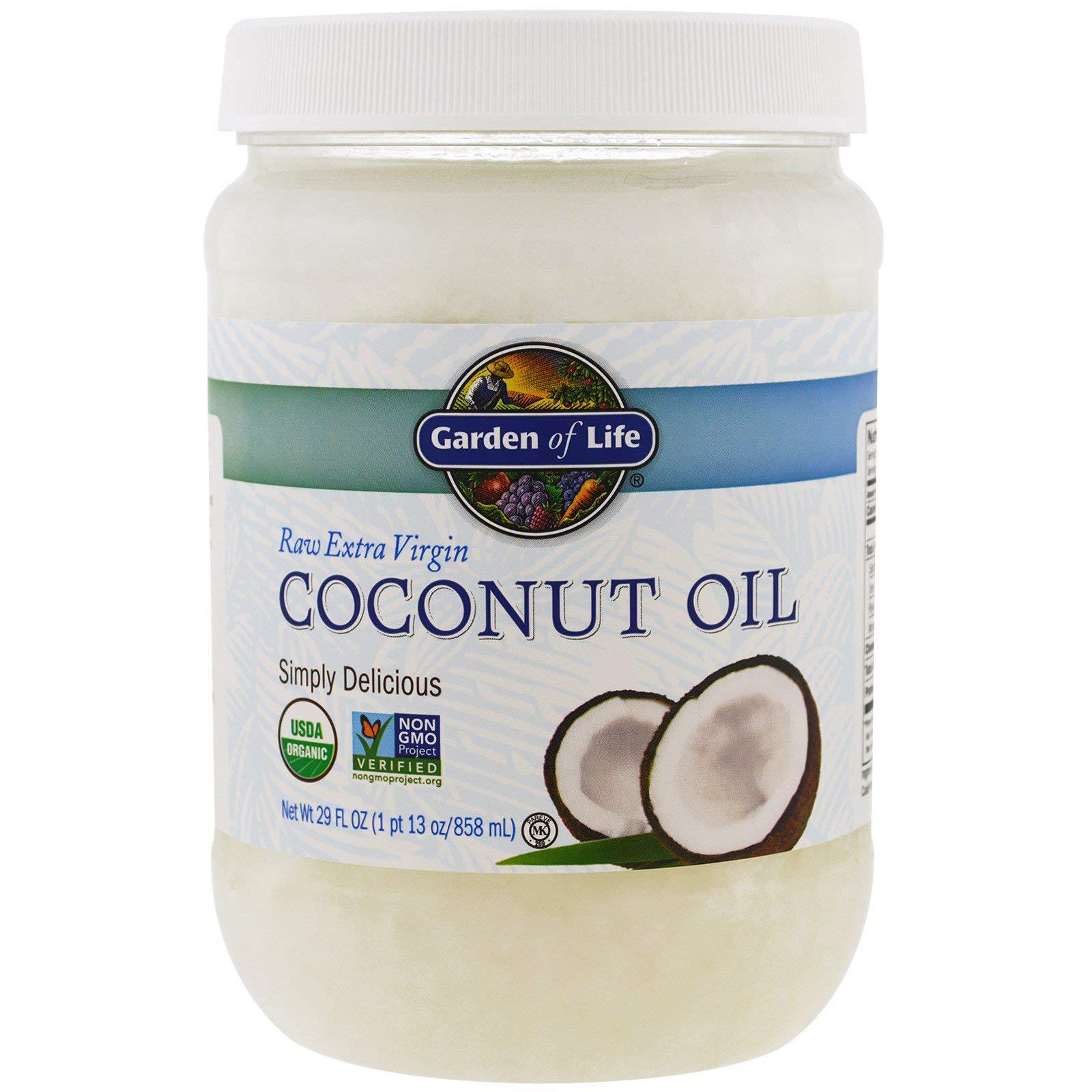 Garden of Life, Raw Extra Virgin Coconut Oil, 29 fl oz (858 ml)