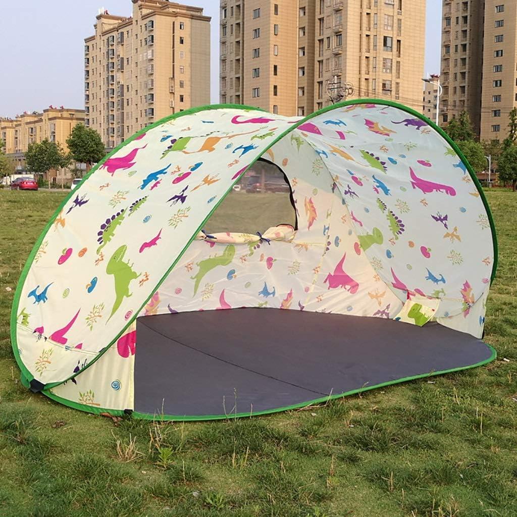 Pop Up Portátil Automático Beach Camp Tent Sun Shelters Anti UV para Jardín Al Aire Libre Camping Pesca Picnic 220x 120x100 CM A