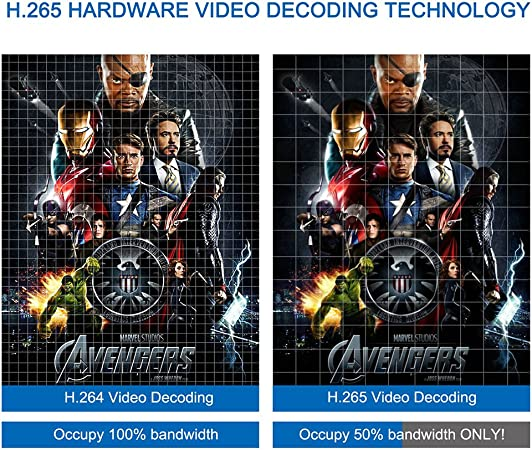 VicTsing - Dispositivo para cine en casa (Android 5.1, Smart TV Box, RK3368 Octa Core 64Bits, 2 G RAM + 16 G eMMC flash, ,UHD 2 K x 4 K, Bluetooth 4.0,