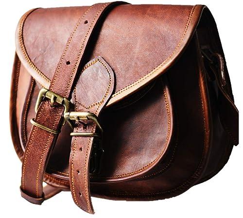 Urban Dezire Women's Leather Vintage Messenger