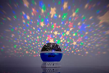 Bedroom Ceiling Stars And Projector Night Light, Planetarium For Baby,  Toddler, Nursery And