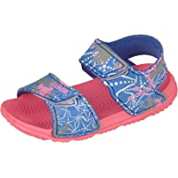 Nicoboco Chancla niña Croler Rosa Azul Velcro 32-161-361