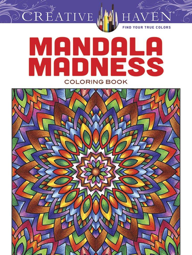 Amazon Creative Haven Mandala Madness Coloring Book Books 9780486781983 John Wik