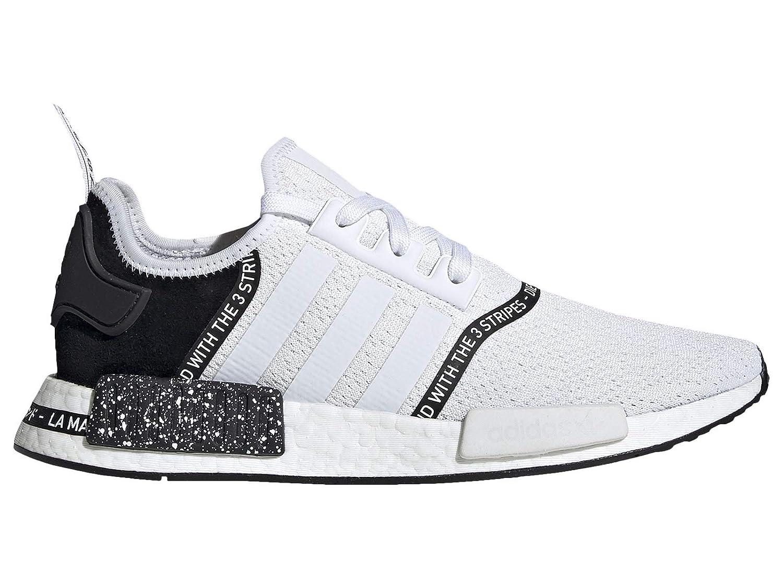 online store 87699 7c4ca Amazon.com | adidas Men's Originals NMD R1 White/White/Black ...
