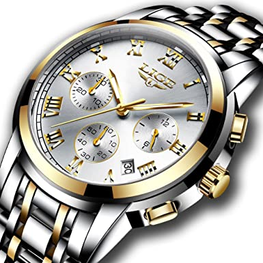 Review Watches Mens Full Steel
