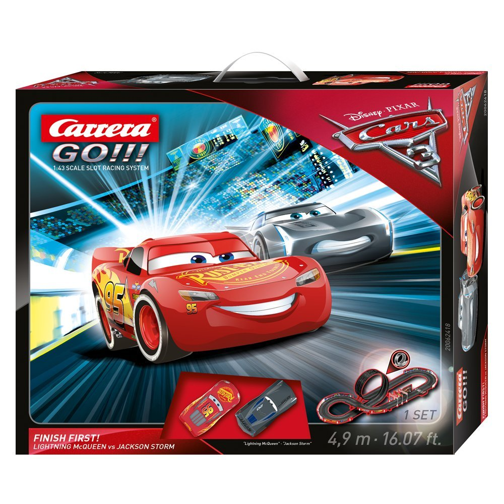 Carrera Finish First! 20062418 Disney//Pixar Cars 3
