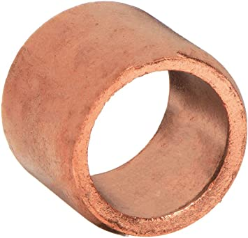 Amazon Com Flush Bushing Wrot Copper 1 2 X 3 8 In Home Improvement