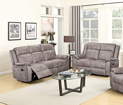 Amazing Amazon Com Gtu Furniture Double Reclining Sofa And Loveseat Beutiful Home Inspiration Cosmmahrainfo