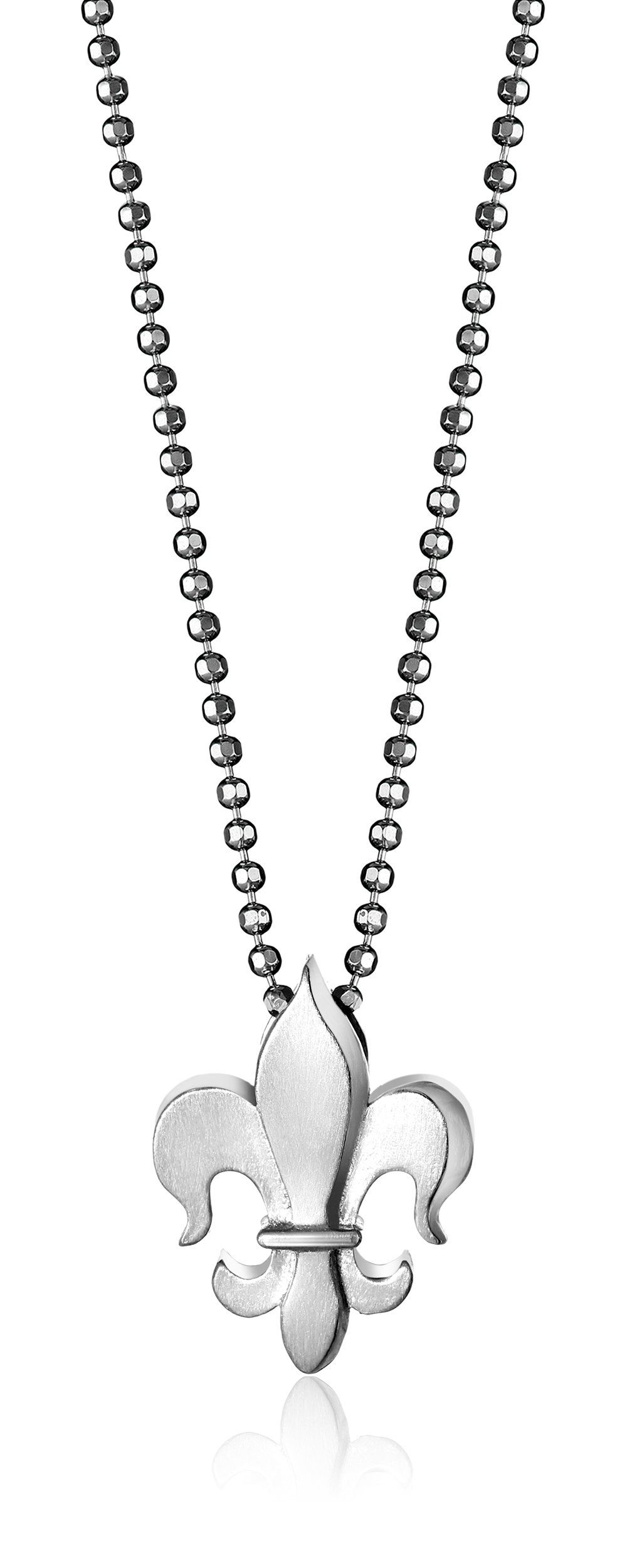 Alex Woo ''Little Faith'' Sterling Silver Fleur-de-Lis Pendant Necklace, 16'' by Alex Woo