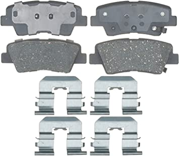 ACDelco 17D1544CH Professional Ceramic Rear Disc Brake Pad Set