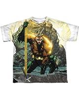 Sublimation Youth: Good vs Evil Aquaman T-Shirt