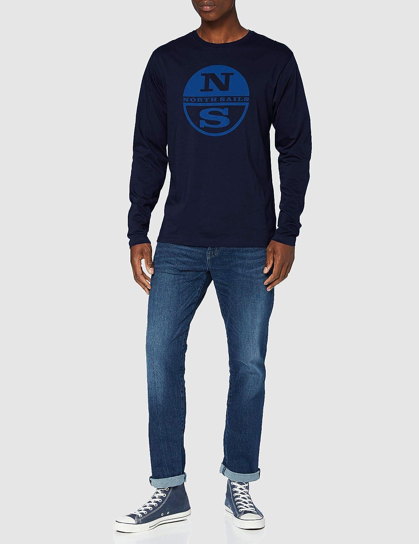 NORTH SAILS T-Shirt L//S W//Graphic Uomo