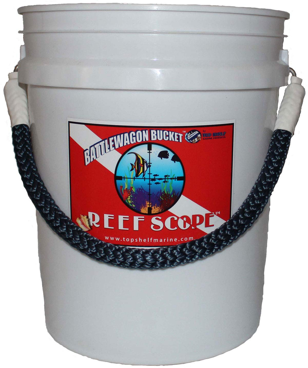 Amazon.com : Reef Scope Underwater View Bucket - White : Sports & Outdoors