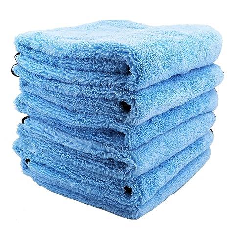 Car Detailing toalla profesional grado 380 g/m² de microfibra para limpieza de coches Lavado