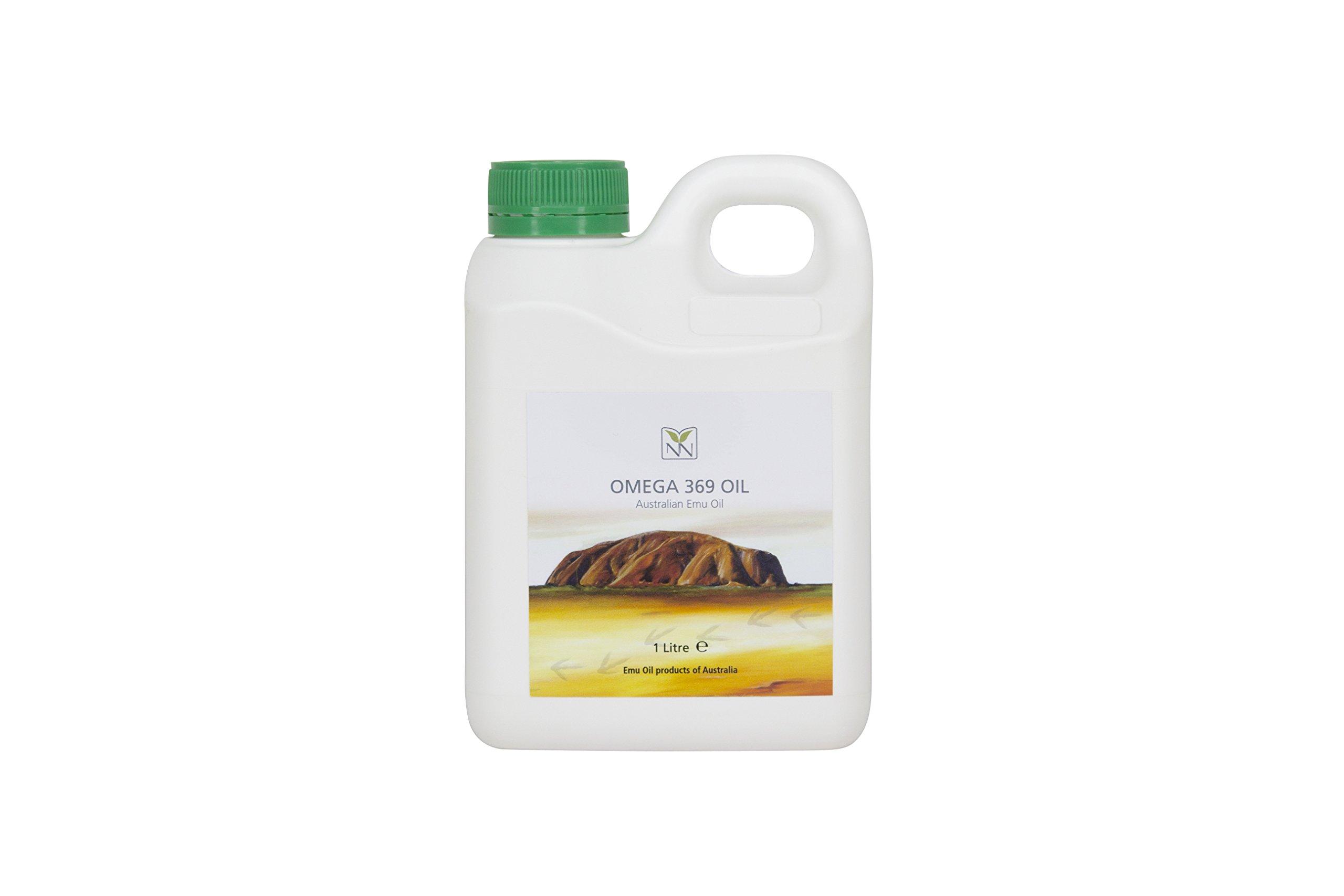 Omega 369 Oil (Australian Emu Oil) 1000ml by Y Not Natural
