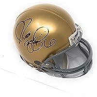 $79 » Jerome Bettis Pittsburgh Notre Dame Fighting Irish Autograph Mini Helmet Bettis Bus Hologram Certified