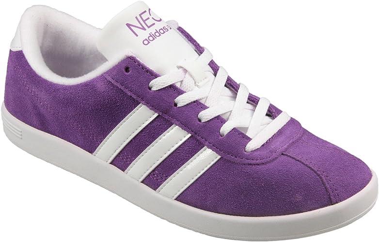 Fecha roja engranaje Sembrar  adidas – Vlneo Court W Zapatillas en Morado, Color Morado, Talla 37 1/3 EU:  adidas NEO: Amazon.es: Zapatos y complementos