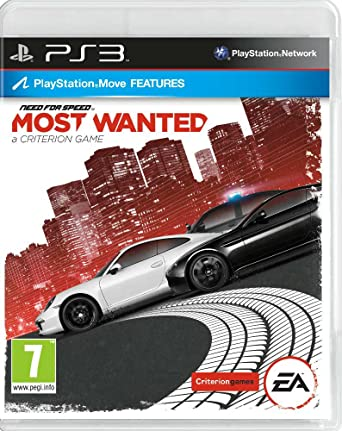 Kết quả hình ảnh cho Need for Speed - Most Wanted cover ps3