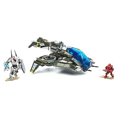 Mega Construx Halo 5 Warzone Wasp Strike Building Set: Toys & Games