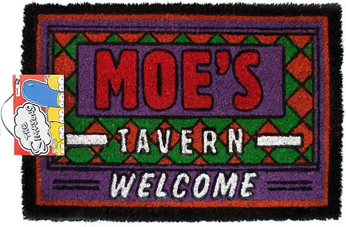 The Simpsons Official Moes Tavern Door Mat Novelty Door Mat