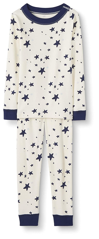 Moon and Back Unisex Kids 2 Piece Long Sleeve Pajama Set
