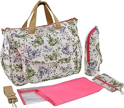 Multifunction Baby Nappy Diaper Tote Larger Capacity Mummy Handbag Messenger Bag