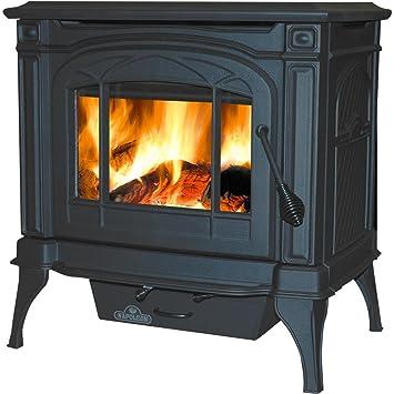 Amazon.com: Napoleón 1100 °C estufa de leña, color negro ...