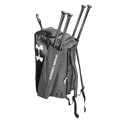 Amazon.com: Under Armour Baseball/Softball Cleanup 2 Duffel/Backpack Black UASB-CON-BK: Sports & Outdoors
