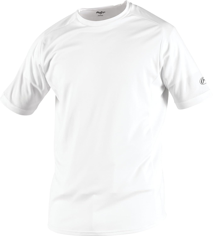 Rawlings Youthクルーネックジャージー B00D9PX5JG L|ホワイト ホワイト L