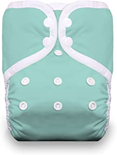 product image for Thirsties One Size Pocket Diaper Snap, Aqua