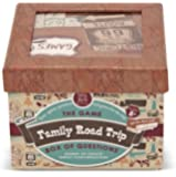 Melissa & Doug Family Road Trip Box of Travel Questions Game - 82 Conversation Starters on Cards