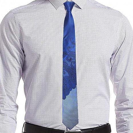 FDHFC Corbatas Hombre De Lujo Floral Corbatas Flacas 6 Cm Gravata Slim Tie Classic Business Casual Paisley Tie para Hombres: Amazon.es: Deportes y aire libre