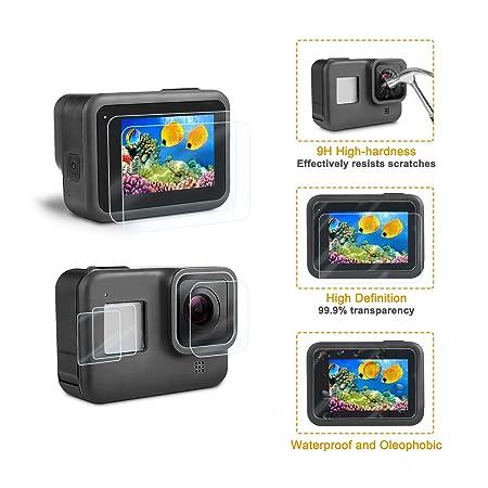 Amazon.com: Kit de accesorios para GoPro Hero 8, carcasa y ...