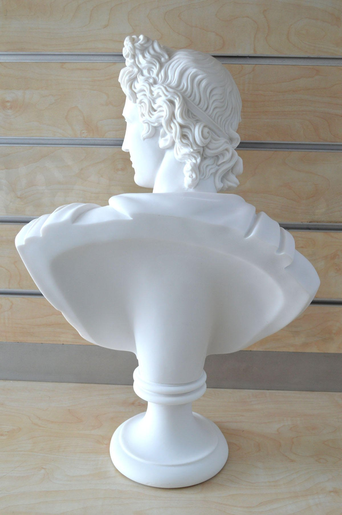God Apollo Bust Sculpture Ancient Greek God of Sun and Poetry Grand Statue by Estia Creations (Image #4)