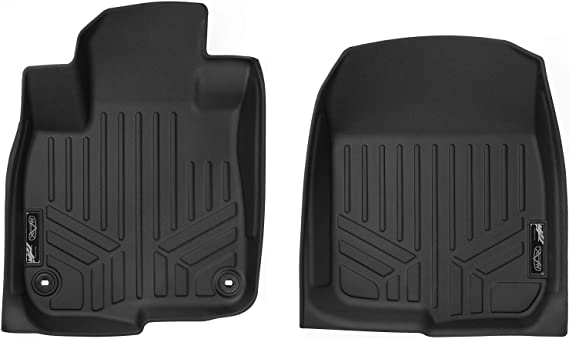 MAXLINER Floor Mats 1st Row Liner Set Black for 2017-2018 Honda CR-V