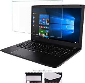 15.6 Inch Laptop Glass Screen Protector+ Large Cleaning Cloth for 16:9 Aspect Ratio Laptop