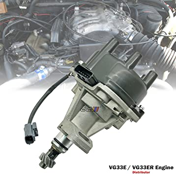 Nissan Frontier /& Xterra 3.3L VG33E eng 2000-2004 Ignition Kit Cap /& Rotor For