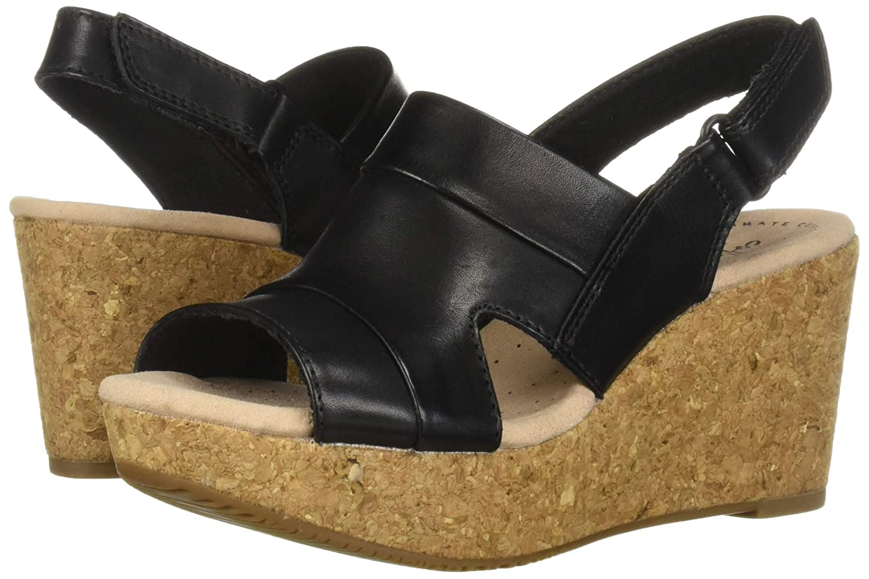 0a6601f3e76c Amazon.com  CLARKS Women s Annadel Ivory Wedge Sandal  Shoes