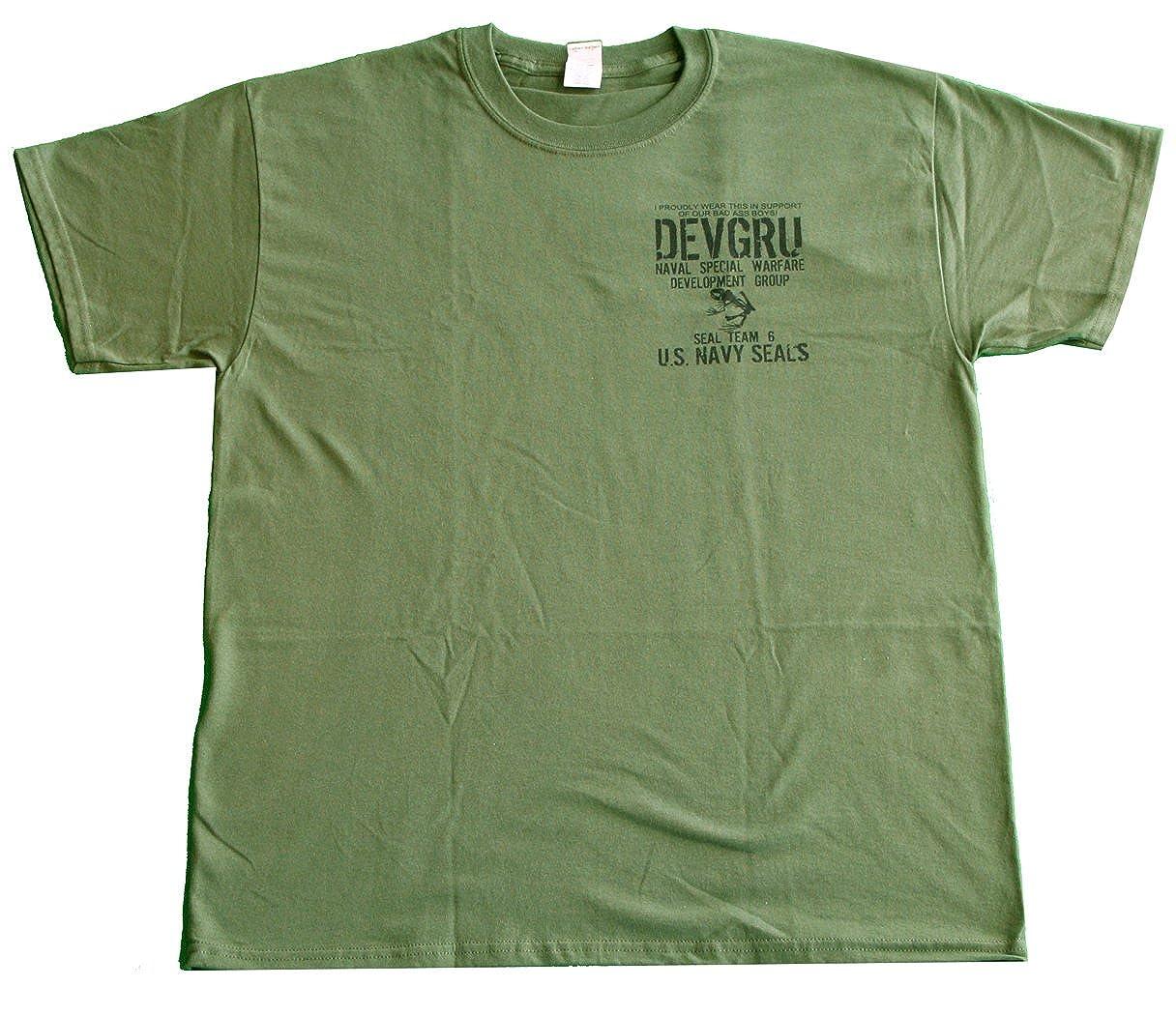 87bcdea32fd U. S.Navy Seals Skull Skeleton Devgru T-Shirt United States Naval Special  Warfare