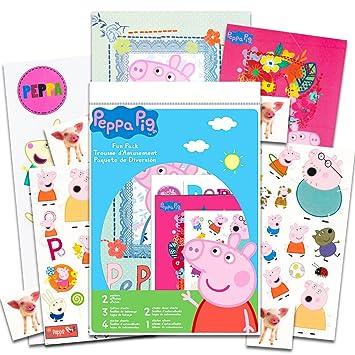 Amazon.com: Peppa Pig - Juego de accesorios para fiestas ...