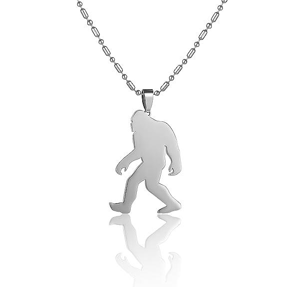 Amazon.com: Acero inoxidable Yeti Sasquatch Bigfoot Big Foot ...
