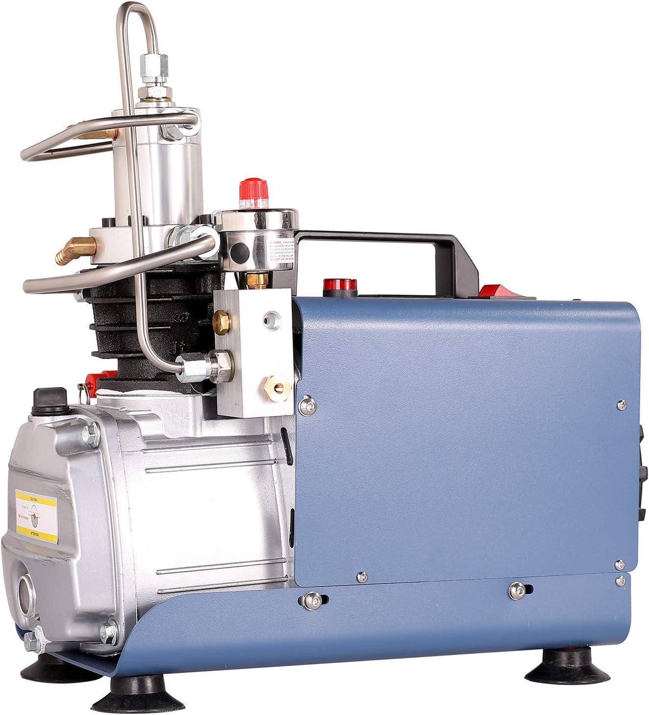 Sfeomi Automatisch Luftkompressor Pumpe Stopp Kompressor 1800w 30mpa 4500psi Hochdruck Hochdruckluftpumpe Kompressorpumpe Pcp Inflator Für Die Aufblasflasche Baumarkt